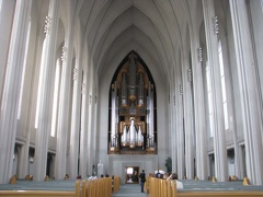 015 Reykjavik cathedrale-lutherienne interieur