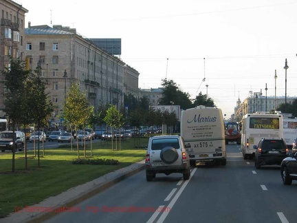 001-Saint-Petersbourg RouteAcces