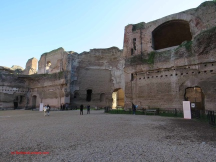 20181227 Rome 041 Thermes-Caracalla
