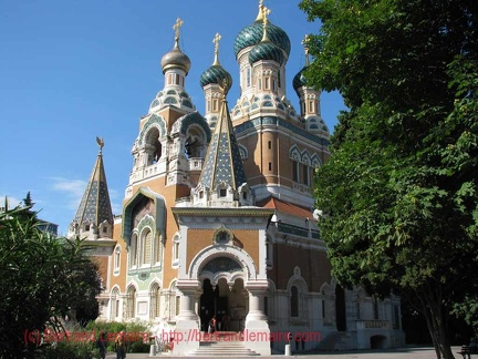 Nice-09 cathedrale-russe